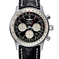 Breitling Navitimer Rattrapante Steel 45mm Black United States of America, Florida, Miami