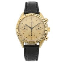 Omega Speedmaster Reduced Yellow gold 39mm Gold No numerals