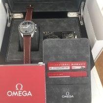 Omega Stahl Handaufzug Schwarz Keine Ziffern gebraucht Speedmaster Professional Moonwatch