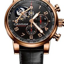 Graham Rose gold 48mm Manual winding 2TSAR.B04A pre-owned