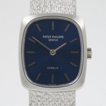 Patek Philippe Golden Ellipse Witgoud 23mm Blauw Nederland, Nijmegen  (www.horloge-sieraden.nl)