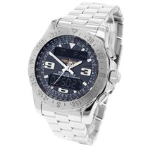 Breitling Airwolf pre-owned 44mm Chronograph Perpetual calendar Alarm GMT Steel