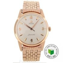 Omega Seamaster Red gold 34mm Arabic numerals