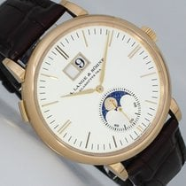 A. Lange & Söhne Red gold Automatic Silver (solid) 40mm pre-owned Saxonia
