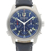 Bremont ALT1-P Pilot Steel 43mm Blue
