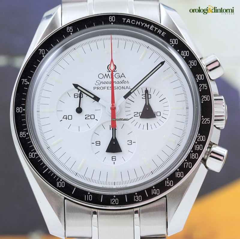 5cd9905954a Omega Speedmaster Alaska Project Limited Edition Steel Mens Watch sold on  Chrono24