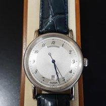 Chronoswiss Kairos Steel Silver Arabic numerals United States of America, Michigan, Royal Oak