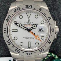 Rolex Explorer II Stahl Schwarz