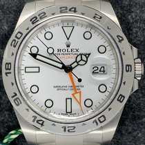 Rolex Explorer II 216570 2019 új
