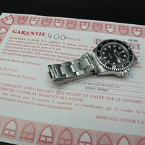 Tudor 1995  SUBMARINER 79190 Black Dial/Bezel with Original Paper