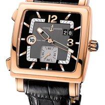 Ulysse Nardin Quadrato Dual Time 18K Rose Gold Men's Watch