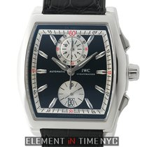 IWC Da Vinci Collection Tonneau Chronograph Stainless Steel...