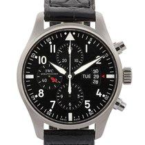IWC Pilot Chronograph 43mm In Acciaio Ref. Iw377701