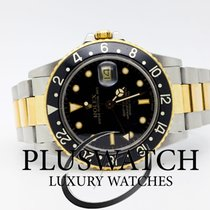 Rolex GMT MASTER 16753 Steel & Gold Ser 946++++  1986 3757