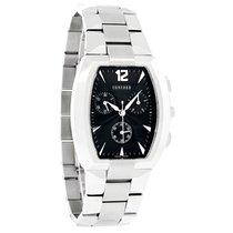 Concord La Scala Mens Black Dial Swiss Chonograph Watch 0311109