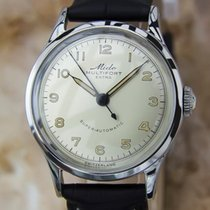 Mido Multifort Extra Super Auto Swiss Made 1950 Mens Stainless...