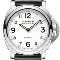 Panerai Luminor Base 8 Days Steel 44mm White Arabic numerals United States of America, New York, NEW YORK