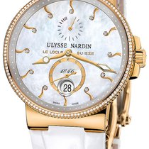 Ulysse Nardin Marine Chronometer 41mm новые 2020 Автоподзавод Часы с оригинальными документами и коробкой 266-66B/991