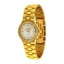 Longines Yellow gold Quartz 25mm pre-owned Conquest