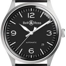 Bell & Ross BR V1 Otel 38.5mm Negru Arabic