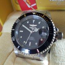 Invicta 89260B Automatic Diver Black Dial