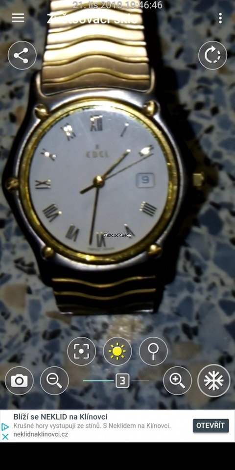 f3f08a303a Koupě hodinek Ebel