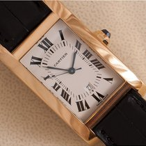 Cartier Tank Américaine tweedehands 24mm Geelgoud