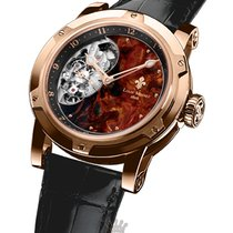 Louis Moinet Metropolis Rose gold 43.2mm