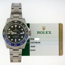 Rolex GMT-Master II Steel 40mm Black No numerals Australia, New York