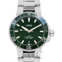 Oris Aquis Date 43.50mm Green