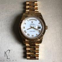 Rolex Day-Date II Gelbgold 41mm Römisch Schweiz, Geneva