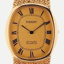Tissot Stylist 33mm Gold Römisch