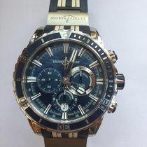 Ulysse Nardin Diver Chronograph Steel 44mm Blue No numerals