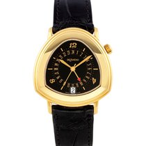 DeLaneau Yellow gold 38mm Automatic GSMYG pre-owned