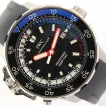IWC Aquatimer Deep Two Otel 46mm Negru