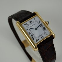 Cartier Tank (submodel) Yellow gold 24mm White Roman numerals United States of America, Texas, Houston