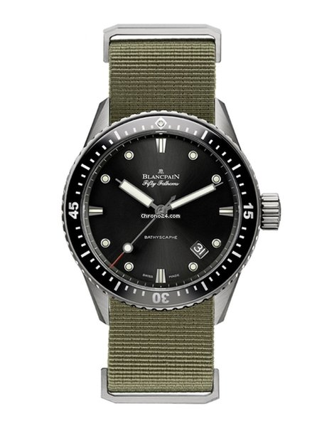 Guantity limitata materiali superiori vendita scontata Blancpain Fifty Fathoms Bathyscaphe