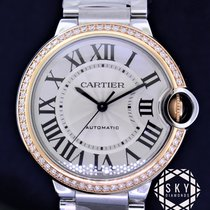 Cartier Ballon Bleu 36mm Gold/Steel 36mm White