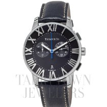 Tiffany Atlas Acero 42mm Negro Romanos
