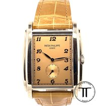 Patek Philippe Gondolo White gold 33.4mm Brown Arabic numerals