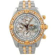 Breitling Chronomat Evolution Gold/Steel 44mm Mother of pearl Roman numerals United States of America, California, Fullerton