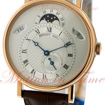 Breguet new Automatic Display Back Small Seconds Blue Steel Hands 39mm Rose gold Sapphire crystal