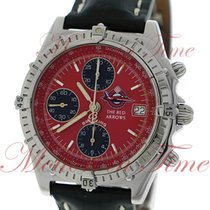"""Breitling Chronomat """"Red Arrows"""", Red Dial, Limited..."""