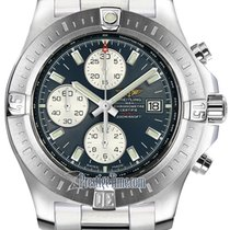 Breitling Colt Chronograph Automatic Steel 44mm Blue United States of America, New York, Airmont