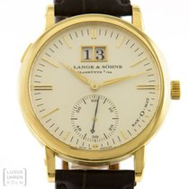 A. Lange & Söhne 308.021 Yellow gold 1999 Langematik 37mm pre-owned