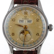 Omega 1940's Triple Date Moonphase 2471-1