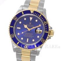 ロレックス (Rolex) Submariner Date Blue Dial Yellow Gold Steel 40MM...
