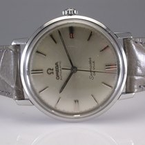 Omega Seamaster De Ville  Silver Dial Stainless Steel Automati...