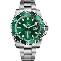 Rolex Submariner Date Steel 40mm Green No numerals UAE, Dubai