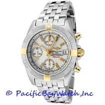 Breitling Chrono Galactic Steel 39mm White